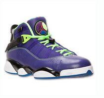 美国代购专柜正品Jordan 6 Rings 乔丹男款篮球鞋2013复刻版紫色 价格:1480.00