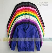 【兔兔家】13年彩标款J.crew100%山羊绒开衫背心套装款 糖果色入 价格:550.00