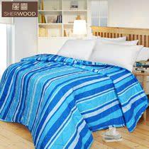 喜屋家居 全棉可水洗棉花秋被4.5斤 空调被夏凉被子可作床垫包邮 价格:79.80