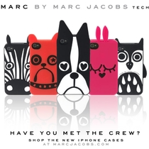 MARC BY MARC JACOBS狗狗 iphone5手机壳 保护壳 苹果5外壳配件 价格:26.00