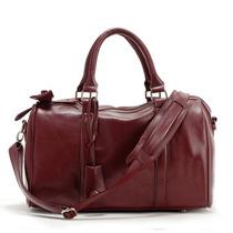 2013新款复古经典通勤商务休闲手提包波士顿包圆桶包女式包邮单肩 价格:108.00