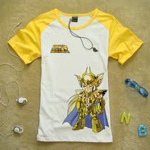 琦趣 80后怀旧动漫 Q版沙加 圣斗士星矢全系列人物 纯棉短袖t恤X1 价格:49.30