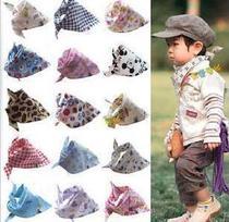 母婴用品 正品猿人头潮宝宝三角巾 婴幼儿口水巾 包头巾围巾 价格:2.50