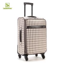 sedna静音万向轮高档旅行李拉杆密码箱子包苏格兰纹促销特价 价格:199.50