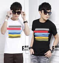 美特斯邦威板2013夏装新款日韩版男装t恤潮流短袖T男恤短袖上衣服 价格:38.00
