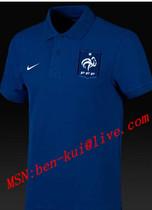 France EURO 2012Good Quality Football polo t-shirt dark Blue 价格:60.00