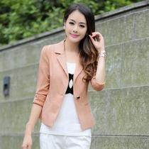 女装夏季修身小西装女外套 2013新款小西服 蕾丝镂空短款小西装 价格:118.00