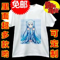 镜音双子T恤 MIKU镜音双子镜音玲巡音 动漫T恤定制周边 速干T恤 价格:42.00
