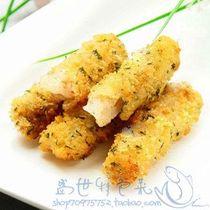 亚洲鱼港油炸海味 海苔碟鱼柳 海苔鲽鱼柳 深海蝶鱼 720克60枚 价格:32.00