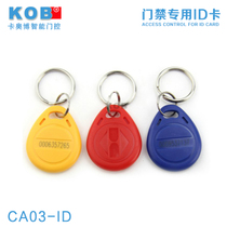ID卡 ID钥匙卡 ID考勤卡 ID感应卡 门禁ID钥匙卡 门禁卡 ID异形卡 价格:0.65