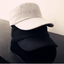 韩版时尚新款户外纯棉平顶帽鸭舌帽棒球帽遮阳帽男女情侣帽子批发 价格:25.00