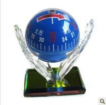 车用指南针水晶球 汽车指南针琉璃 车内水晶 多色 摆设 GPS玻璃球 价格:24.00