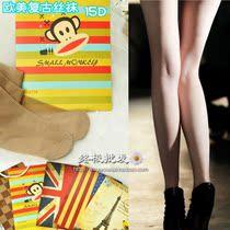 独家国旗款 欧美复古性感丝袜 15D超薄连裤袜 WZ479 价格:6.80