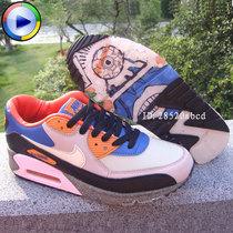 特价 2013增高运动鞋AIR MAX90气垫跑鞋机器猫迷彩森林之王 男女 价格:138.00