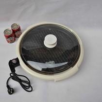 山博欧式多功能电烤盘麦饭石烤肉锅家用电烧烤炉架铁板烧烤牛排机 价格:198.00