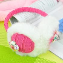39包邮 冬季韩版可爱时尚 卡通 毛绒 保暖护耳套 耳罩耳捂 耳护 价格:10.80