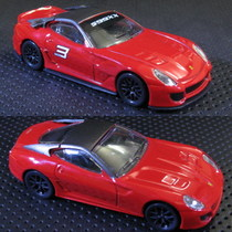 1:43美泰风火轮Hotwheels合金车模 法拉利599XX/GTO 亏本甩卖 价格:20.00