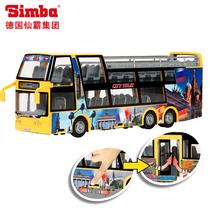 仙霸[3314322]迪奇城市观光双层旅游巴士公交车模 惯性 男孩最爱 价格:99.00