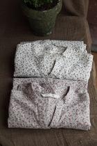 """经典小微 """"恋旧""""纯棉立领小碎花衬衫 女 七分袖 棉 衬衣 价格:138.00"""