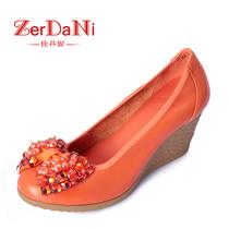 2013春新款天美意珍丹妮女式鞋单鞋休闲鞋时尚韩版潮流真皮鞋包邮 价格:359.00