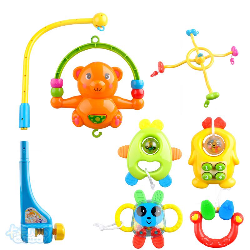 手机床铃 婴儿玩具床头铃音乐旋转床玲0-2-3-5三五十个月宝宝玩具 价格:59.94