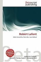 【预订】Rob Rt LaFont 价格:536.00