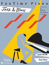 【预订】FunTime Piano Jazz & Blues, Level 3A-3B: Easy Piano 价格:88.00