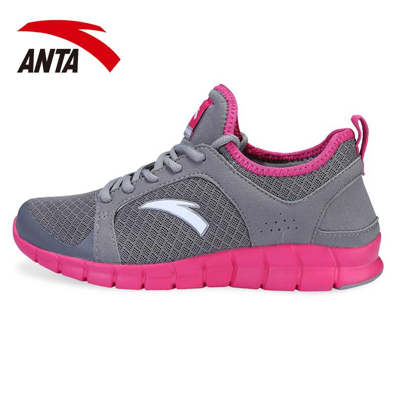 安踏运动鞋 女跑步鞋正品2013新款ANTA 女鞋透气轻跑鞋网面旅游鞋 价格:199.00