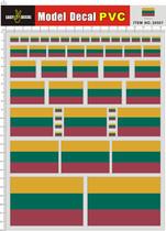 20507 立陶宛 Lithuania PVC遥控车壳不干胶贴纸 价格:16.50
