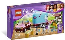 乐高益智玩具积木 LEGO 3186 Friends女孩系列 艾玛的马车 拖车 价格:238.00