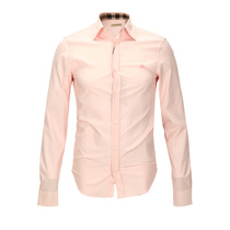 BURBERRY BRIT巴宝莉混合材质时尚纯色男士长袖衬衫 价格:3000.00