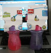 美国Playtex哺儿适 吸管杯训练水壶 带阀门 266ml轻便型 4色可选 价格:58.00