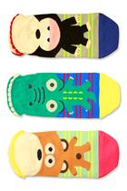 韩国进口短袜子个性可爱卡通动物隐形浅口防滑船袜女士纯棉短袜套 价格:7.00