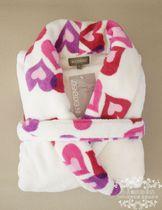 法国原单INEXTENSO超柔软双面珊瑚绒睡袍女浴袍睡袍浴衣女睡衣 价格:78.00
