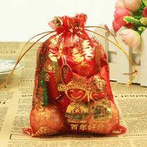 雷运 喜糖袋三款/百年好合纱袋/喜烟袋儿/喜糖盒 纱糖袋子 价格:0.26