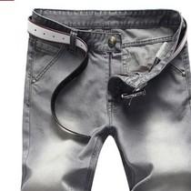 2013夏装新款男士牛仔裤 韩版新品水洗磨白高档面料男裤子 春款 价格:119.00