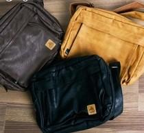 日系外贸 原厂尖货复古古着包包PU皮质斜跨单肩包潮人包背包 男 价格:98.00