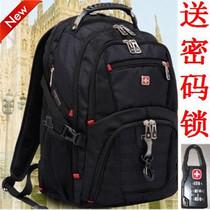新款瑞士军刀手提双肩包 时尚商务电脑背包 男女书包/休闲旅行包 价格:140.00
