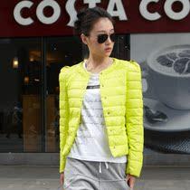 韩版薄款棉衣女装  短款纯色肩章修身棉衣外套 冬装清仓特价女装 价格:98.00