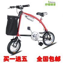 正品w-bike小悍马折叠自行车速立达2代折叠车台湾正新轮胎包邮 价格:480.00
