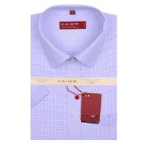 13夏新款正品开尔男短袖衬衣男士格子短袖衬衫男商务衬衣XPD-K501 价格:139.00