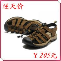 13新款专柜正品ECCO凉鞋爱步男鞋时尚休闲皮鞋磨砂牛皮包头沙滩鞋 价格:205.00
