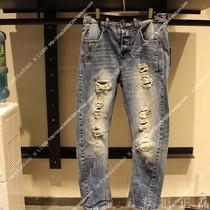 【三皇冠 正品代购】 jackjones/杰克琼斯 立体剪裁小裤脚牛仔裤 价格:149.00