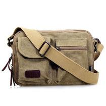 帆布包夏季小挎包2013新品男士包包单肩包斜挎包小包休闲韩版女包 价格:55.00