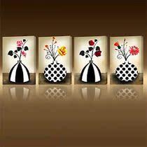 一若无框画装饰画客厅现代壁画沙发背景墙装饰画餐厅卧室走廊挂画 价格:30.40