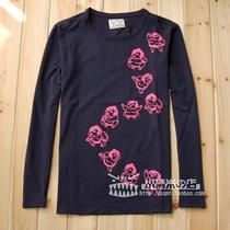 香港正品代购秋装新款日本顶级福神evisu圆领莱卡长袖T恤男款相扑 价格:245.00