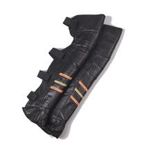 超长加厚护膝摩托车电动车防风保暖真皮护膝护腿情侣真皮护膝包邮 价格:95.00
