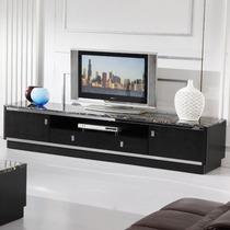 大理石面液晶电视柜组合现代时尚简约实木皮烤漆钢化玻璃地柜包邮 价格:1180.00
