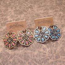 【皇家橡树】 lucky brand  新款 超独特艳美华丽 复古时尚耳环 价格:55.00