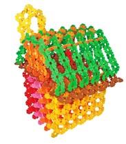 华隆雪花片积木大号加厚塑料拼插玩具儿童益智玩具3-7岁雪花插片 价格:25.00